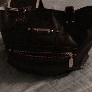 Black Bag w/makeup bag included